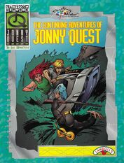 The Continuing Adventures of Jonny Quest (paint with water book)