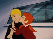 Jessie Bradshaw gives Jonny a kiss