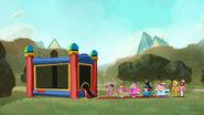 Jellystone ep07 Bouncy Castle line