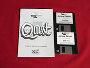 Curse of the Mayan Warriors - floppy disks and manual
