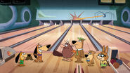 Jellystone ep02 Quest Bowl bowling alley