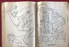 Whitman 1965 coloring book sample 13