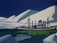 Icebreaker in Arctic Splashdown 2