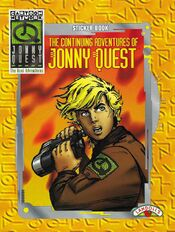 The Continuing Adventures of Jonny Quest (sticker book)