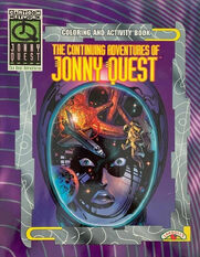 The Continuing Adventures of Jonny Quest (coloring book)