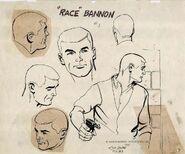 Model sheet Race Bannon by Doug Wildey