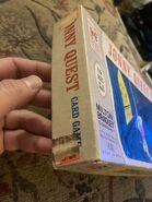 Milton Bradley Card Game box side left