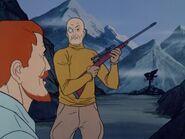 Heinrich von Fruelich shooting with Dr. Quest