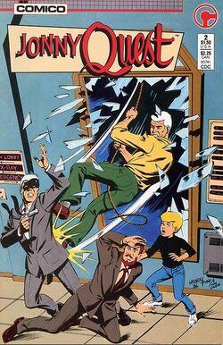 Jonny Quest Comic Book #20 Comico 1988 NEAR MINT NEW UNREAD