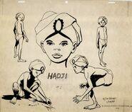 Model sheet Hadji by Doug Wildey