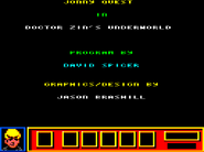 Doctor Zin's Underworld Amstrad CPC credit screen
