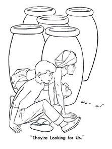 Whitman 1965 coloring book sample 6