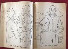 Whitman 1965 coloring book sample 21
