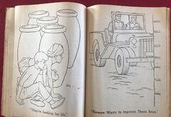 Whitman 1965 coloring book sample 15