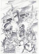 Larry Navarro - Jonny Quest art