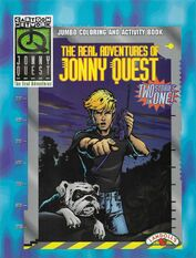 The Real Adventures of Jonny Quest (coloring book)