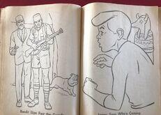 Whitman 1965 coloring book sample 18