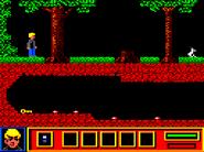 Doctor Zin's Underworld Amstrad CPC game screen