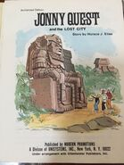 Lost City (1972) title page