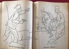 Whitman 1965 coloring book sample 14
