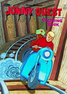 Jonny Quest Whitman coloring book re-release