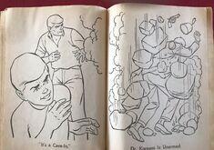 Whitman 1965 coloring book sample 20