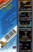 Doctor Zin's Underworld Amstrad cover back