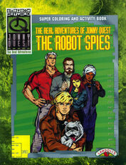 The Robot Spies (coloring book)
