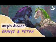Meet Petra & Erinys - Magic Horses ✨