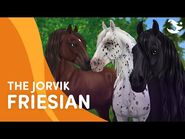 Meet the updated Jorvik Friesian! 😍 - Star Stable Breeds