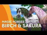 Meet Birch and Sakura! 🌱🌸 - Star Stable Magic Breeds ✨