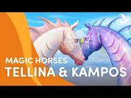 Meet Tellina and Kampos 🐟🐚😍 - Star Stable Magic Breeds ✨