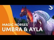 Meet Umbra and Ayla! 🌓✨ - Star Stable Magic Breeds ✨
