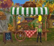 Zielony sklep żywnościowy