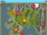 Midsummer Flower Map Guide