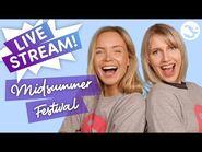 🔴 LIVE STREAM - Exploring Midsummer festival! 🌸🌿😍