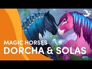 Meet Dorcha and Solas! 😍🌸💙 - Star Stable Magic Breeds ✨