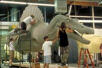 Animatronic-sculpting spino