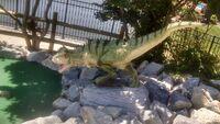 Dino golf baby carnotaurus