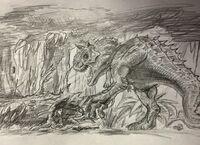 Carnotaurus Attack