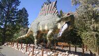 George S Eccles Dinosaur Park Spinosaurus