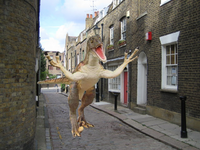Attacking raptor