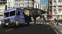 What if t rex on the loose by adorety d7h8zko-pre