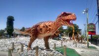 Dino golf t rex