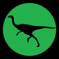 Jurassic Park Gallimimus Logo