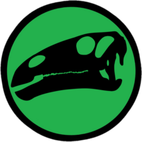 Jurassic Park Iguanodon Logo