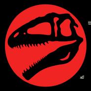 Jurassic Park Giganotosaurus Logo