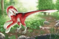 Utahraptor red