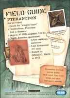 2001 Jurassic Park III 3-D 58 Pteranodon back