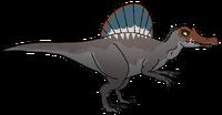 Spinosaurus aegypticus robustus (shaded)